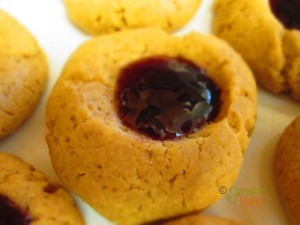 Gluten Free Peanut Butter and Jelly Cookies