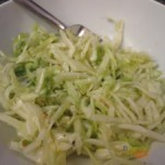 Crisp and Light Dairy Free Coleslaw