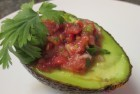Salsa Avocado Boats