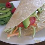 Gluten Free Veggie Wrap