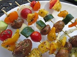 Veggie Kabobs