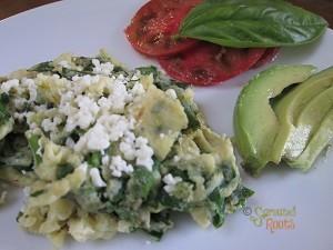 Spinach Scramble