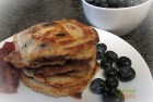 Gluten Free Blueberry Cream Cheese Pancakes