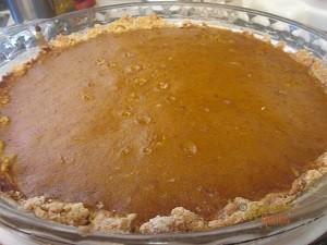 Gluten Free Pumpkin Pie 2