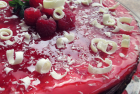 Gluten Free White Chocolate Raspberry Cheesecake