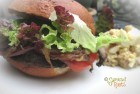 Gluten Free Portobello Mushroom Burger