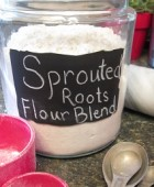 Sprouted Roots' Gluten Free Flour Blend