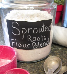 brown rice flour blend