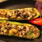Grilled Stuffed Zucchini Boats