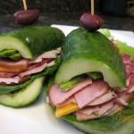 Cucumber Deli Sandwiches