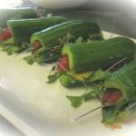 Mini Veggie Cucumber Sandwiches