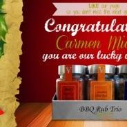 Victoria Gourmet Stocking Stuffer Winner!!!