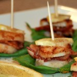 Scallop Basil Boats