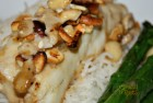 Garlic Cashew Hake