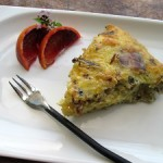 Potato Crusted Bacon Cheddar Quiche