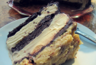 Flour-less German Chocolate Ice Cream Cake